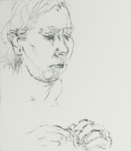 Woman knitting 2